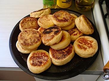 A few english muffins